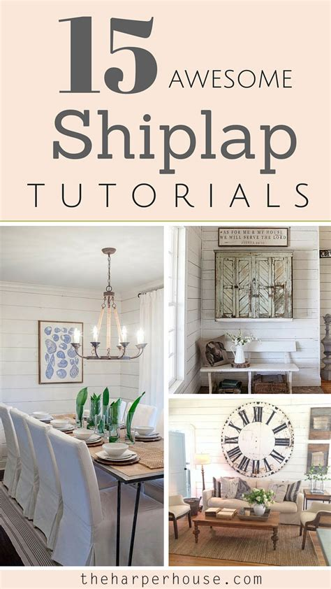 what is shiplap fixer upper s popular design feature shiplap 15 awesome tutorials the harper house