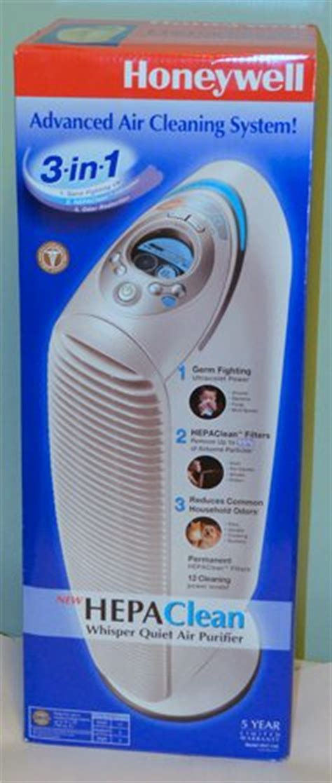 honeywell hepaclean whisper air purifier with uv light review the gadgeteer