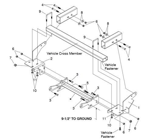 hiniker snow plow 7 5 wiring diagram hiniker plow wiring