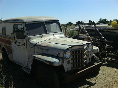 1950 Jeep Wagon 1950 Willys Panel Wagon For Sale Terra California