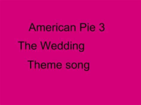 An American Theme Song American Pie Theme Song With Lyrics