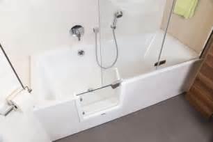 begehbare badewannen begehbare badewanne mit dusche duschbadewanne 170x85 cm r
