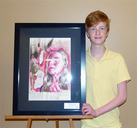 themes for drawing contests big read news teen art contest winners announced
