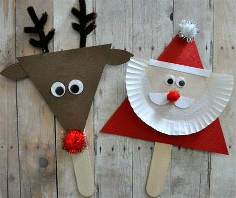 indoor outdoor christmas crafts for kids ideas