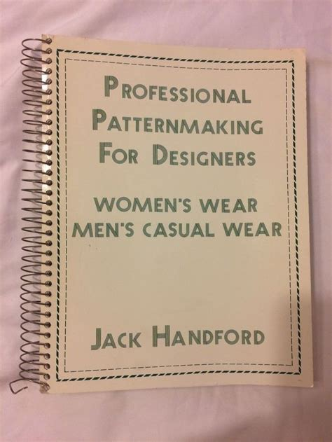 pattern grading jack handford 173 best books vintage sewing fashion design