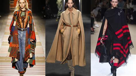top newest fashion trend  fallwinter