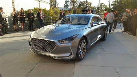 Hyundai Genesis Coupe Forums by Hyundai Vision G Coupe Concept Revealed Hyundai Genesis