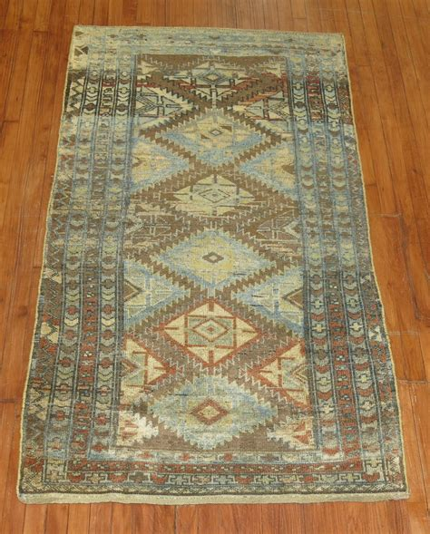 Rugs With Geometric Patterns by Tribal Kurd Rug With Geometric Pattern At 1stdibs