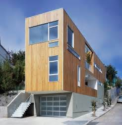 Narrow Houses modern narrow home design in bernal heights