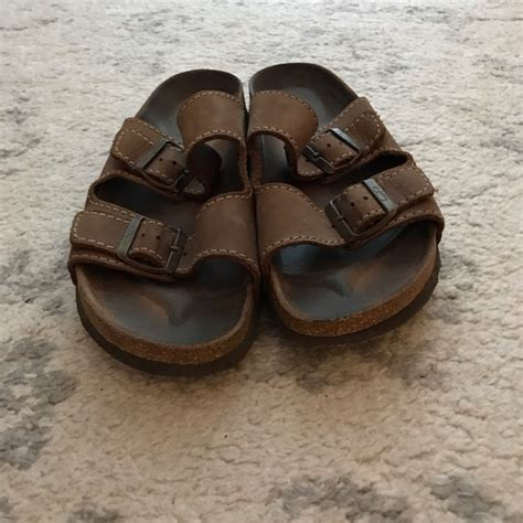 op sandals 73 op other brown s leather op pacific