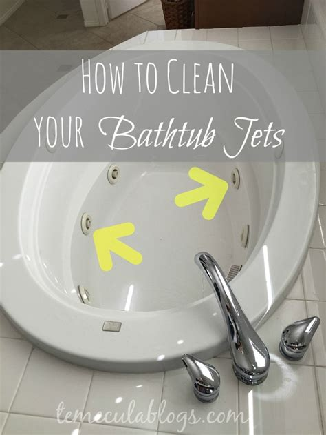 cleaning  jetted tub  home    easier