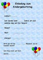Word Vorlage Einladung Kindergeburtstag Vorlage Einladung Kindergeburtstag Word Thesewspot