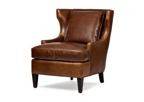 Hancock And Leather Recliners by Hancock San Francisco Cromwell Tufted Wing Chair