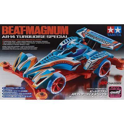 Tamiya V Magnum 1 32 jr beat magnum ar 14 turquoise special mini 4wd car 92285 by tamiya 92285