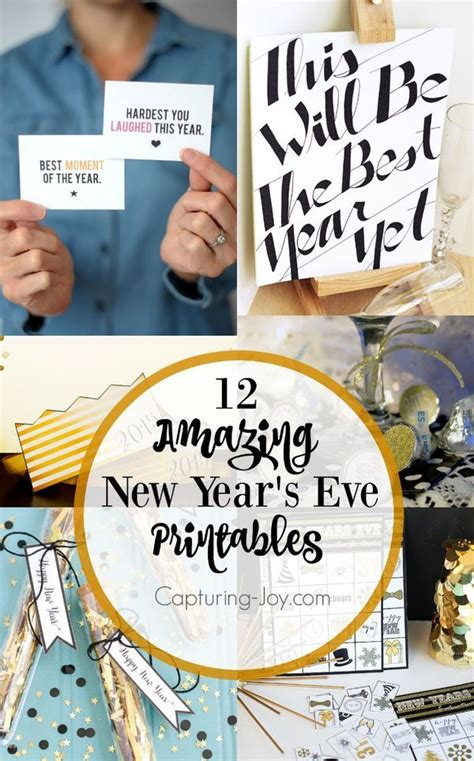 new year activities newcastle 12 new year s printables free printables and