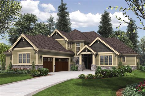 Craftsman Style House Plan 4 Beds 3 50 Baths 3084 Sq Ft