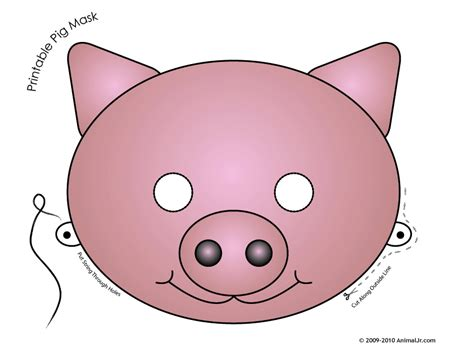 pig mask template kenwyne jones saintsweb