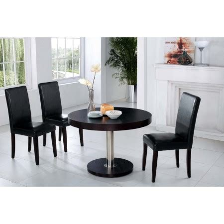 chaises wenge vancouver dining table s 4 b08 chairs
