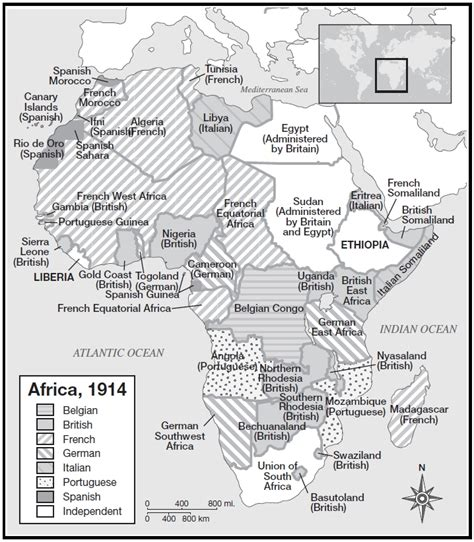 Scramble For Africa Outline Map by Homework Mr Quazza S World History