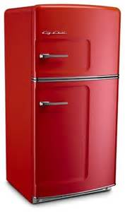 Red Modern Rugs Big Chill Original 20 9 Cu Ft Top Freezer Refrigerator
