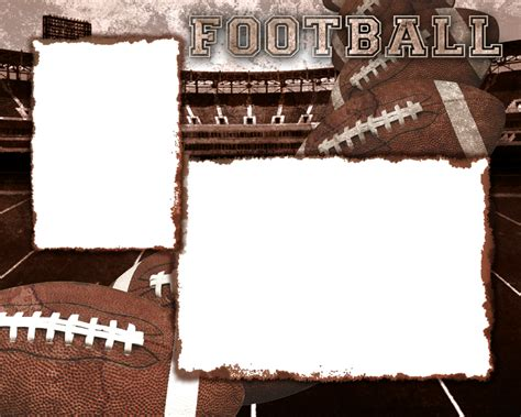 football photo templates