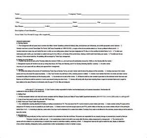 basic contract template vendor contract template 7 free documents in