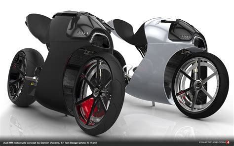 Audi Motorcycle by Audi Rr Concept Bike Is A Glimpse Into The Future