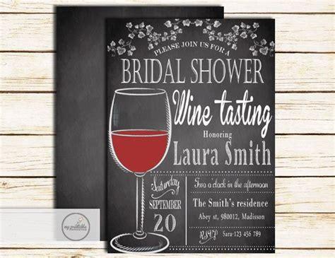 wine tasting wedding shower wine tasting bridal shower invitation by myprintableinvite printable invitations