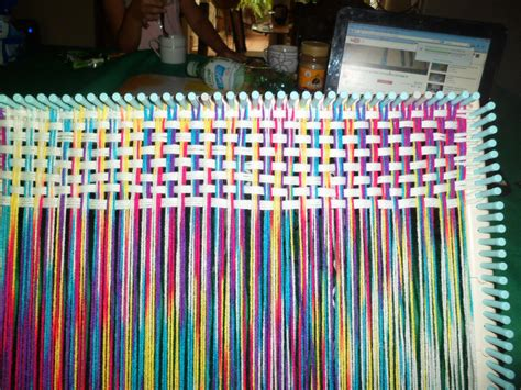 telares cuadrados telar cuadrado el arte textil pinterest telares