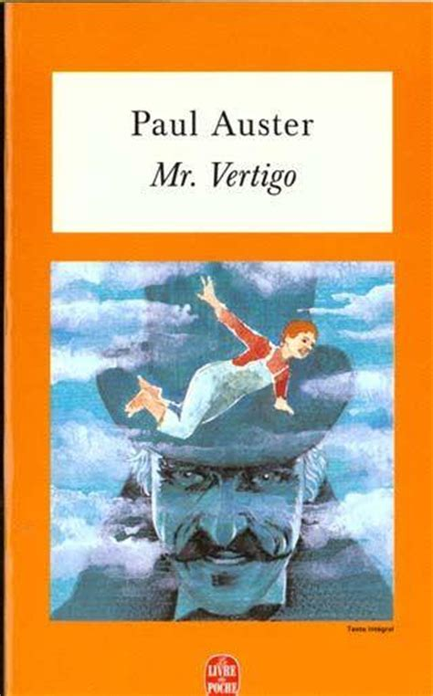 mr vertigo livre mr vertigo paul auster