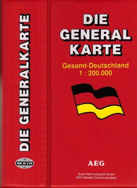 Die Motorrad Generalkarte Deutschland die generalkarte deutschland zvab