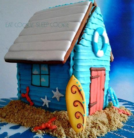 gingerbread beach house beach hut dreaming of the cape by anjum eatcookie