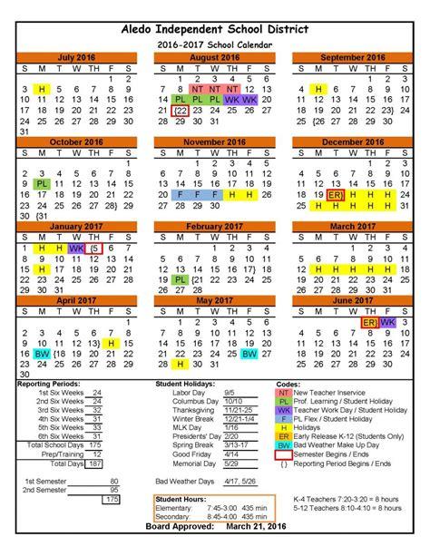 Aledo Isd Calendar Aledo Independent School District 2016 2017 District
