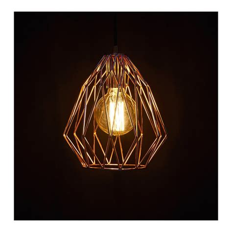kokoon paral copper ceiling light kokoon from only home uk