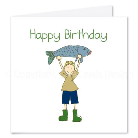 printable birthday cards fishing fishing birthday cards gangcraft net