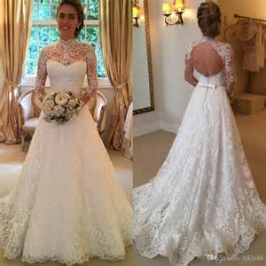 lace dresses to wear to a wedding 2016 vintage lace wedding dresses sleeve