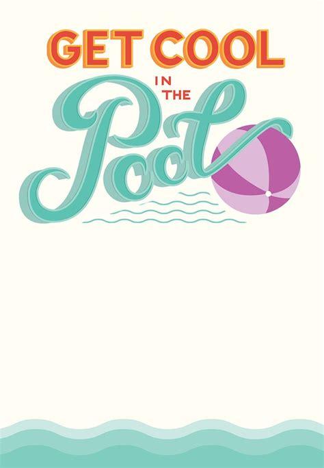 pool invitation best 25 swim invitations ideas on