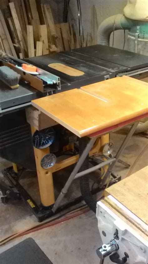 Table Saw Folding Outfeed Table Router Forums