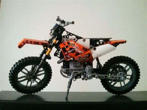 Lego Motorrad Ktm by Ktm 450 Exc Motorcycle A Lego 174 Creation By Florin