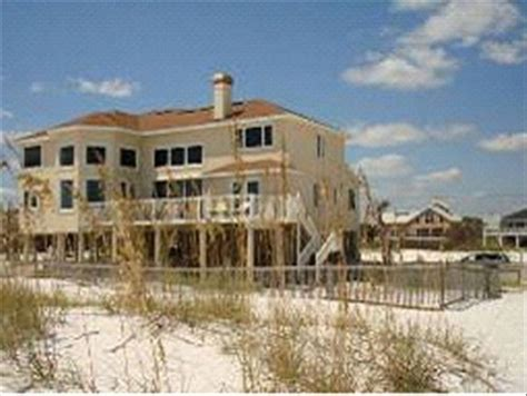 vacation homes in pensacola fl direct gulf front 7 bedroom home 4500 square