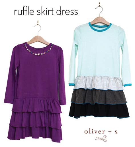 t shirt ruffle skirt pattern ruffle skirt dress blog oliver s