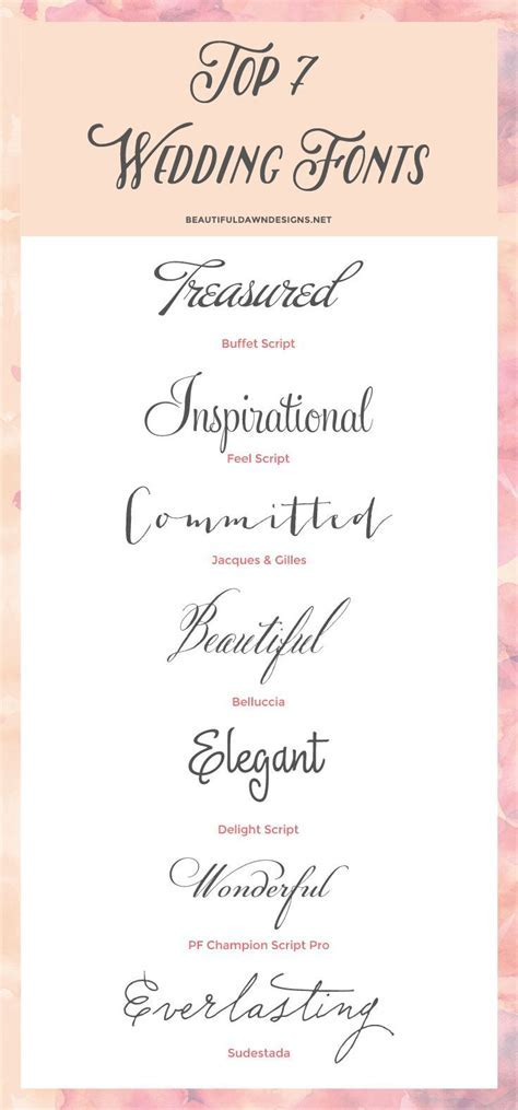 25  best ideas about Wedding Fonts on Pinterest   Wedding