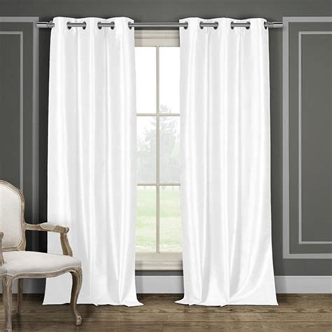 energy saving blackout curtains groopdealz set of 2 blackout energy saving panel curtains