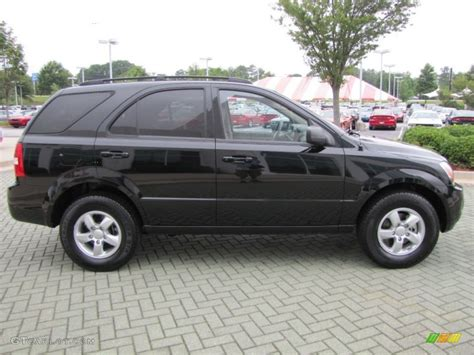 Kia 2008 Black Black 2009 Kia Sorento Lx Exterior Photo 50897590