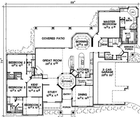 house plans with game room i want a 1 story 4 bedroom house with 2 extra rooms for