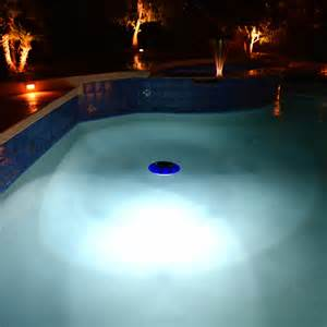 solar swimming pool lights evolution floating solar pool light new items