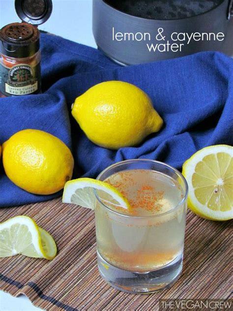 Cayenne Water Detox by 1000 Images About Vegan For A Week On