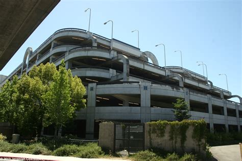 Concord Bart Parking Garage by Pleasant Hill Contra Costa Center Bart Sfo Airport