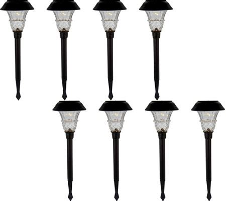 solar landscape lighting qvc duracell 8 10 lumen solar landscape light set page
