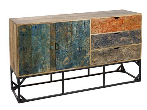 muebles de colores aparador vintage de colores madera de mango y patas de